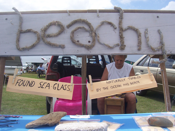 beachy flea market stand