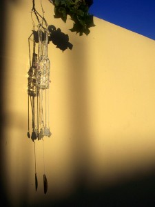 bottle windchime