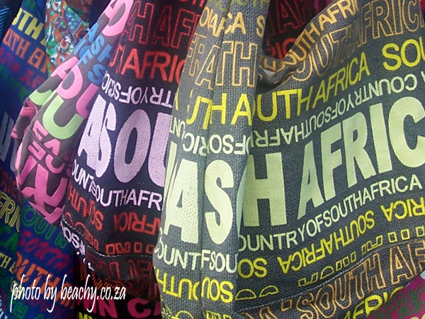 bags with South Africa on them