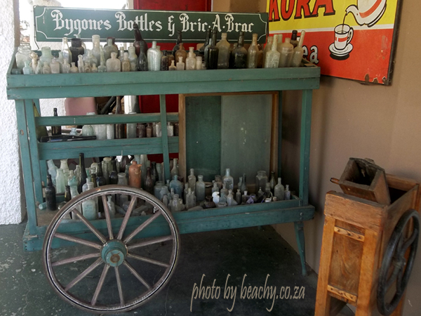 bygones old bottles and bric a brac