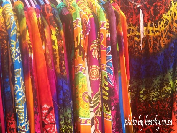 colourful flea market pants