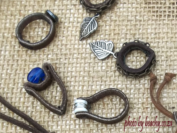 leather rings by beachy TanT
