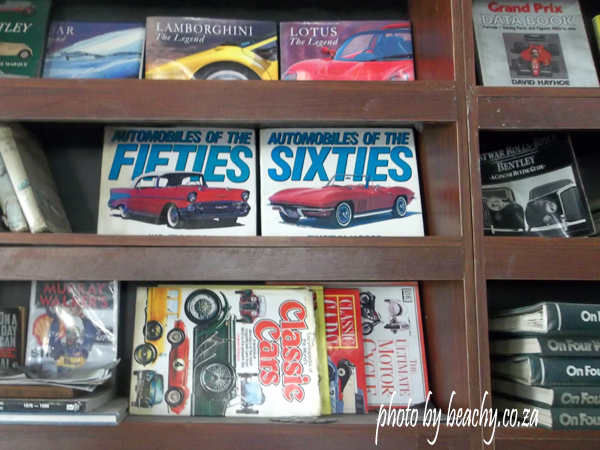 old car books at Thomas River