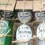 savanna dry glasses cut from savanna dry bottles
