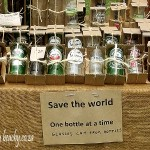uses for glass blottles upcycling into glasses - some of our market products