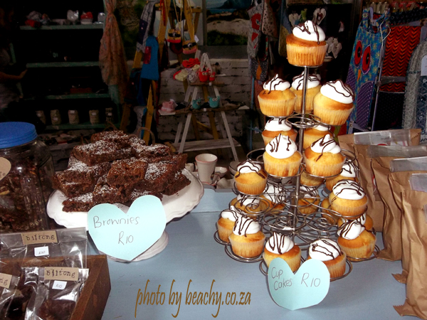 yummy baked goodies to eat at the Blue Barn