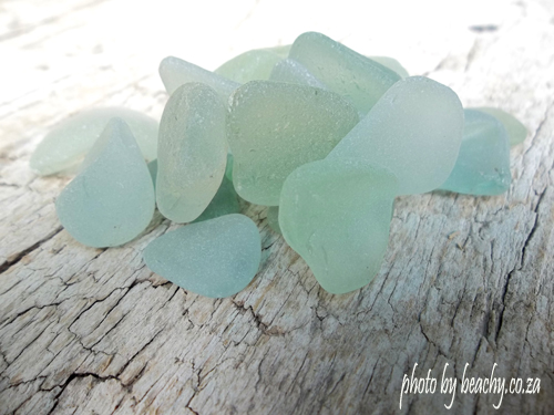 sea foam sea glass pieces small selection