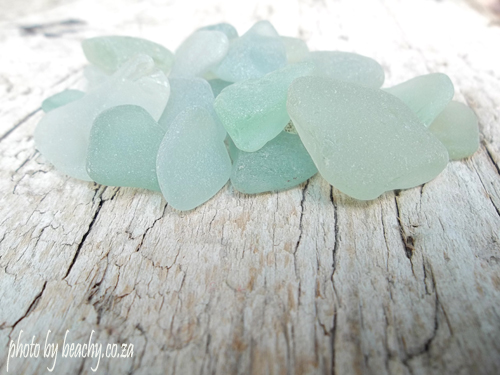 sea foam sea glass small collection