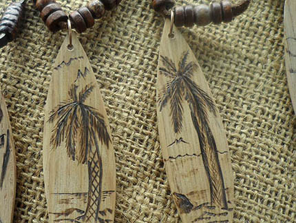 wooden surfboard necklaces in South Africa