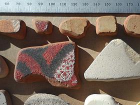 beach pottery lot 030719B - beach pottery