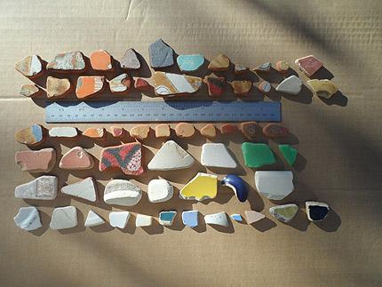 beach pottery lot 030719B