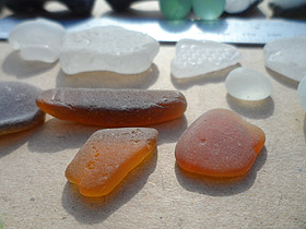 sea glass in South Africa - ALREADY SOLD