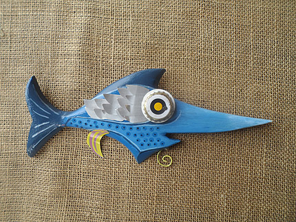 beach house fish decor South Africa - 210819K