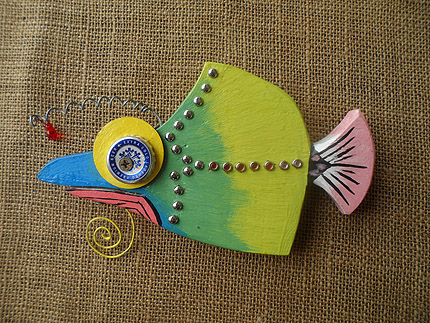 beach house fish decor South Africa - 210819M