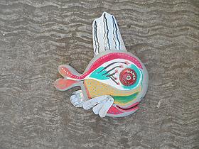 beachy funky fish