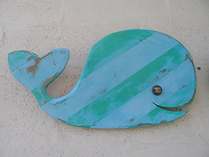 whale decor South Africa 010819C