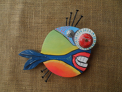 wooden fish wall decor South Africa - 210819H