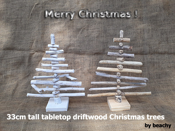 tabletop driftwood Christmas trees South Africa