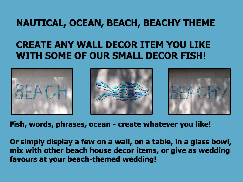 wooden decor fish ideas South Africa