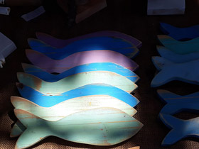 wooden decor fish south africa